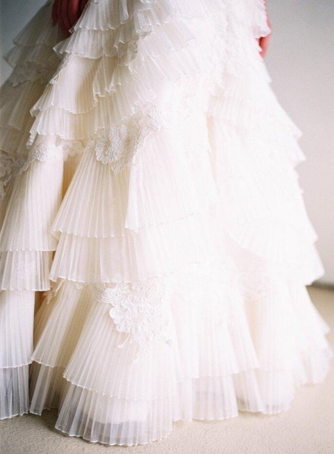 5 cosas que pasarán por tu mente en la prueba de tu vestido de novia - Ray Kang