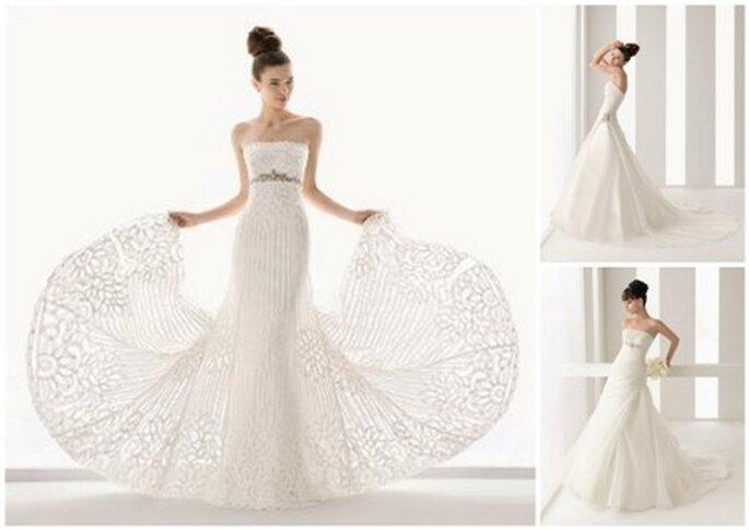 Vestidos de Noiva Aire 2011 - modelos nubil, nin e neri