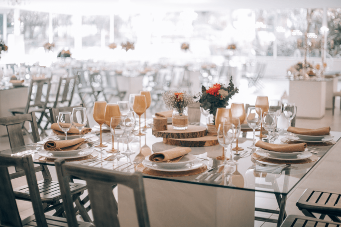 decoraçao mesa casamento