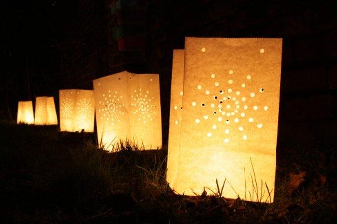 Une sérénité se dégage de ces lanternes...