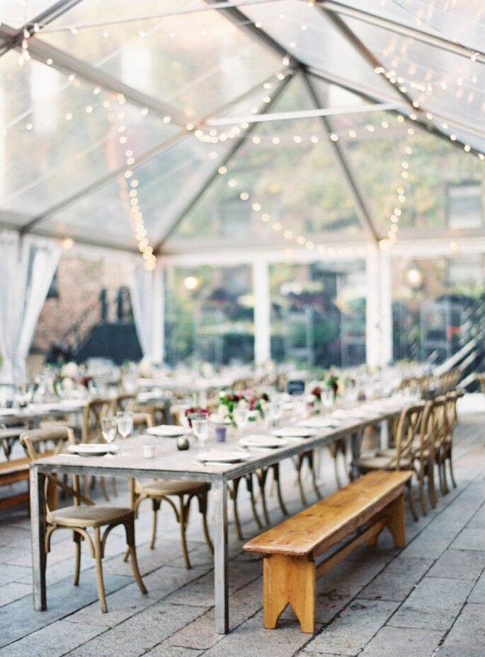 Mobiliario con diseños originales para decorar una boda - Foto Jen Huang