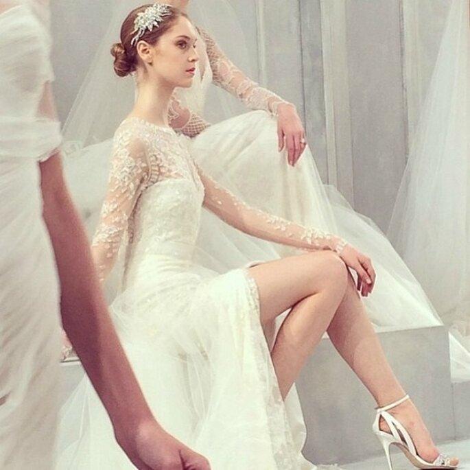 Monique Lhuillier, коллекция свадебных платьев 2015. Фото: соц. сети