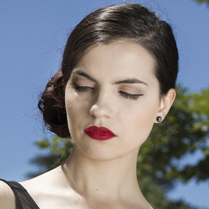 Maquillaje de labios.