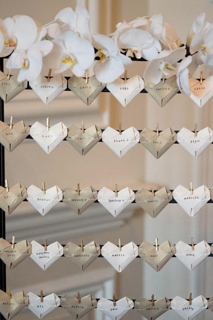 Le 5 idee mai viste prima per le decorazioni del tuo matrimonio - Idee originali per segnaposto matrimonio ...