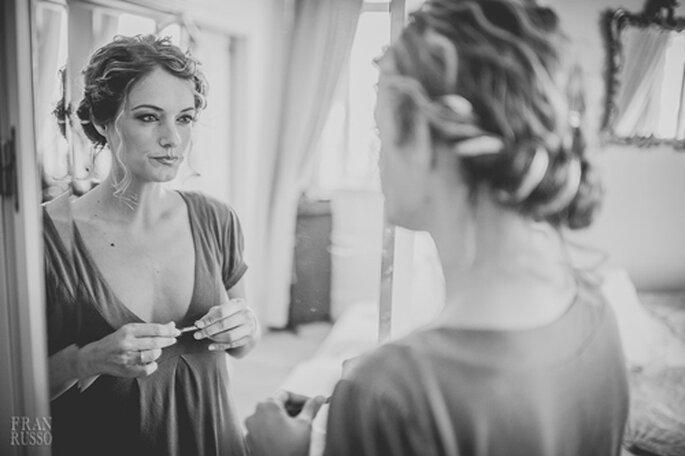 Applicare l'eyeliner sotto l'ombretto è un'ottima soluzione per la maggior tenuta del make up. Foto: Fran Russo