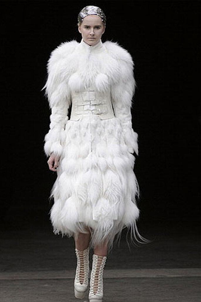 Vestidos de novia alta costura más originales - Alexander McQueen