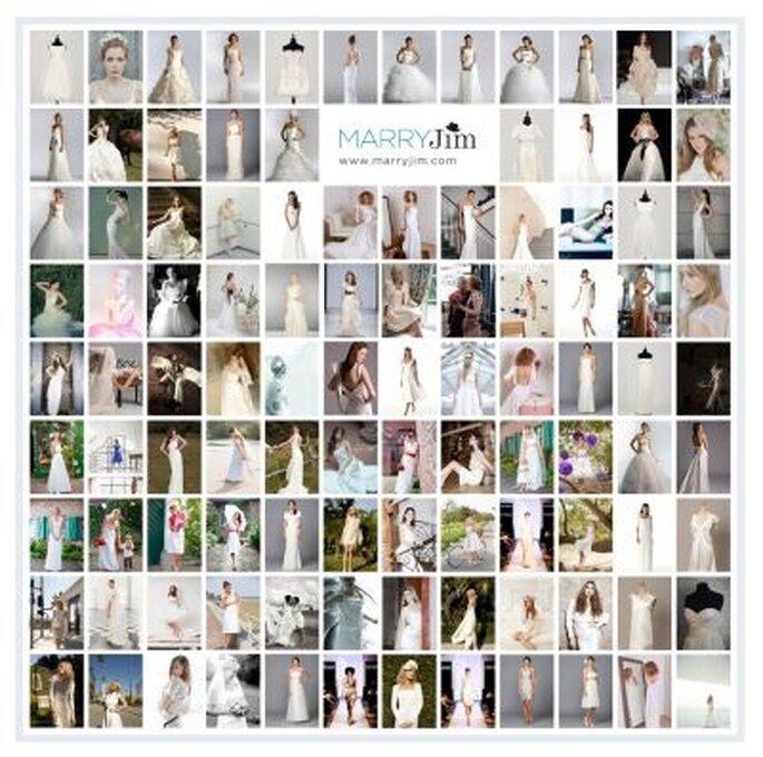 kurze, lange, weiße, rote, sexy, elegante und viele mehr -  Hochzeitskleider zur Wahl