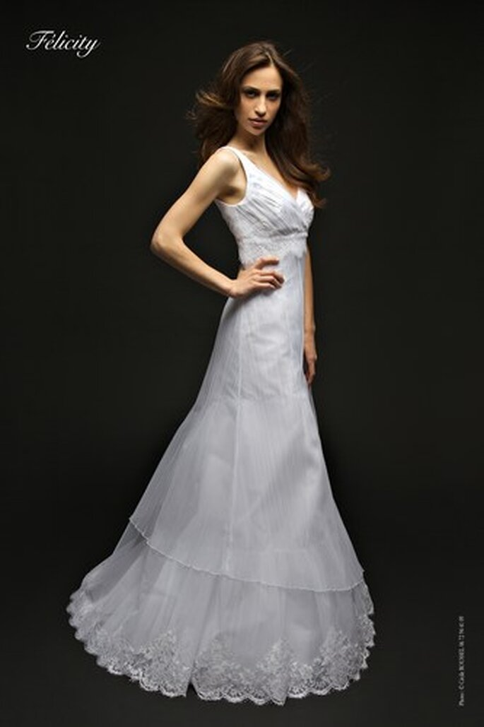 Robes de mariée Bochet Créations 2010 - Felicity