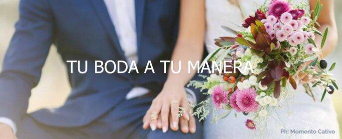 Tu boda a tu manera. Imagen. Momento Cativo