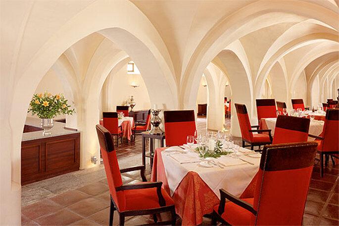 El restaurante Divinus, de cocina mediterránea. Foto: Convento do Espinheiro