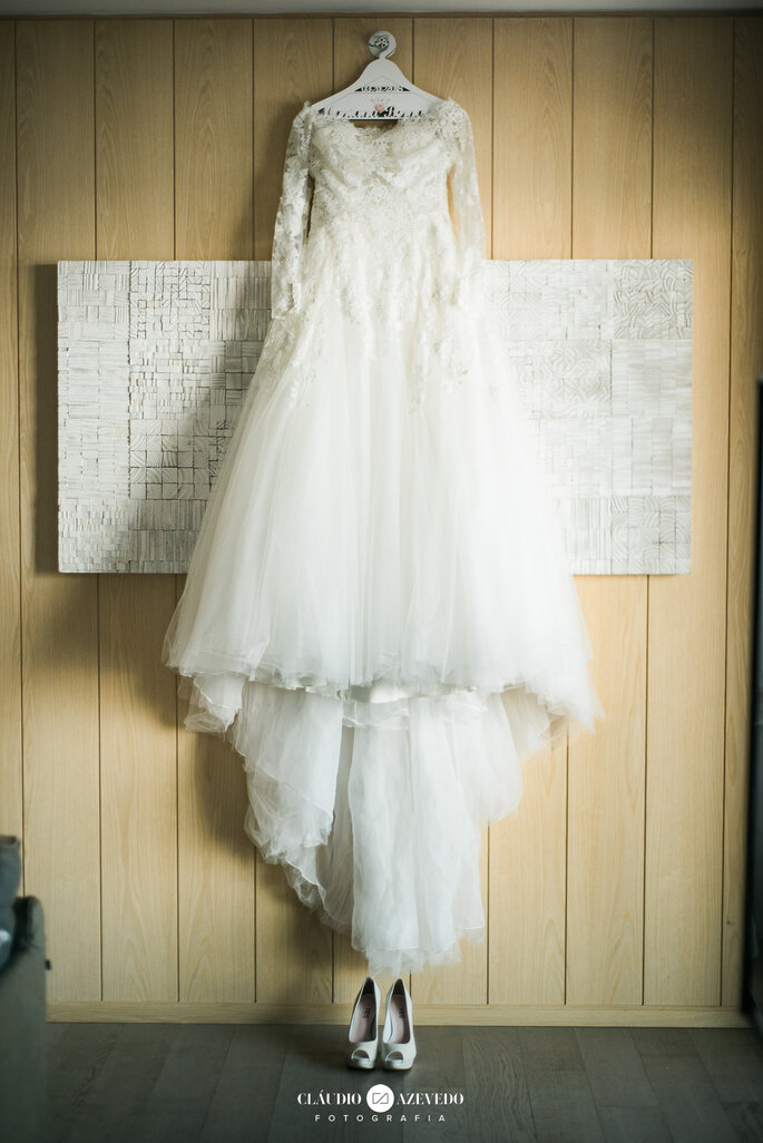Vestido de noiva: Pronovias - Foto: Claudio Azevedo Fotografia