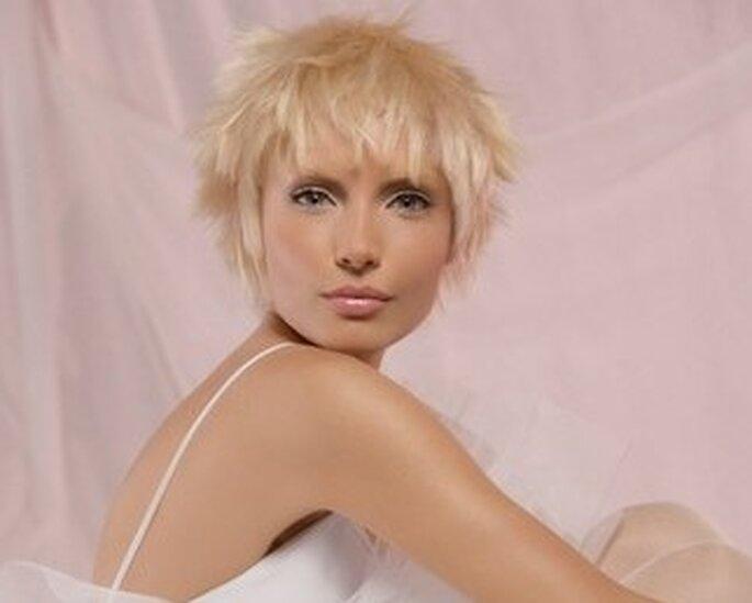 """El estilo """"despeinado"""" resulta muy natural y moderno. Foto: www.alfemminile.com"""