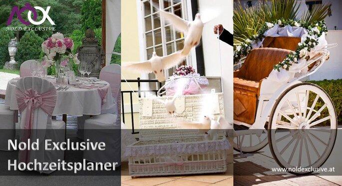 Gelassen Hochzeit feiern mit Nold Exclusive