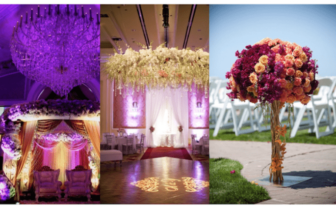 Tendencia Bollywood en bodas - Fotos de Events Capture, Maharani Weddings, Studio Nine