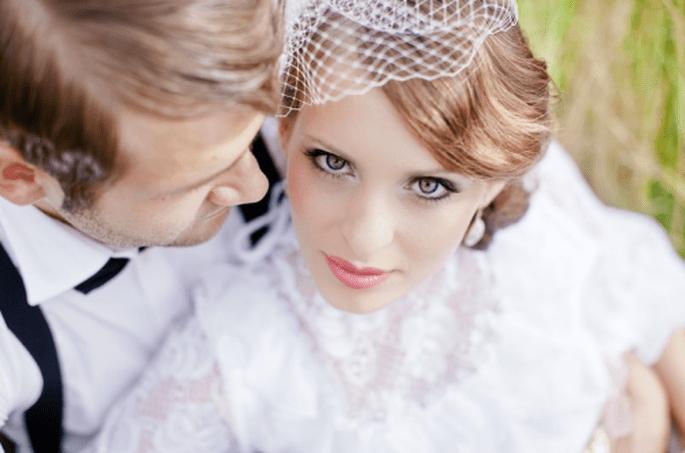 Haz que tus ojos sean los protagonistas de tu maquillaje de novia - Foto Nadia Meli