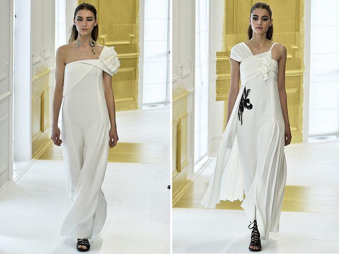Manga única da alta costura da Dior Credits: Divulgação Dior