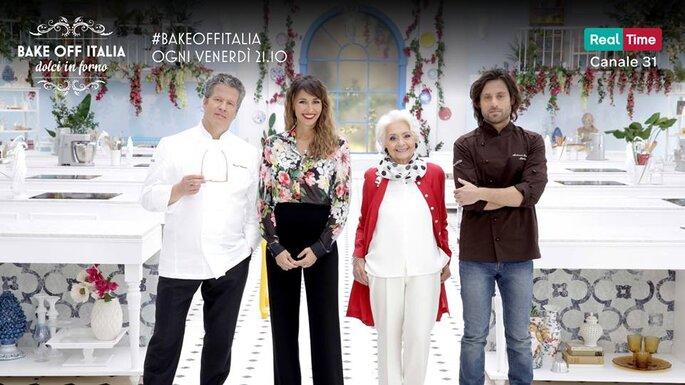 Tra i numerosi impegni di Ernst Knam, Bake Off Italia ogni venerdì alle 21.10 su Real Time