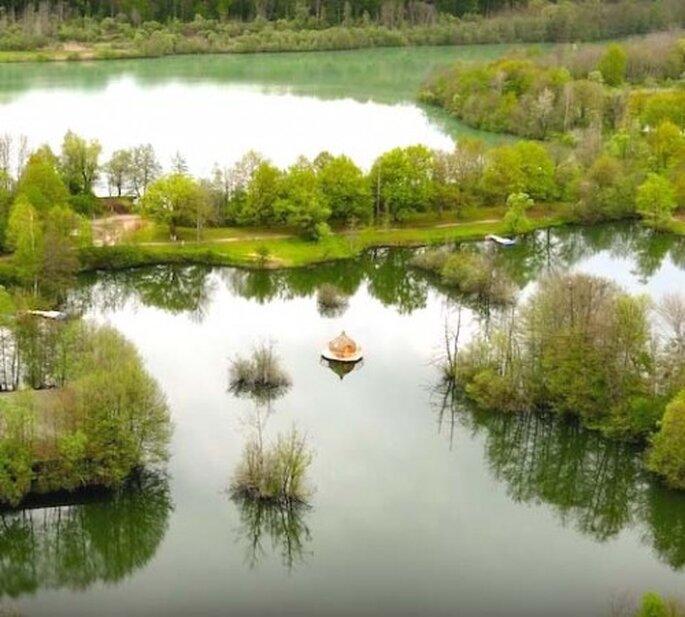 Pas besoin d'aller forcément loin pour se retrouver au bout du monde... Copyright : Cabanes des Grands Lacs