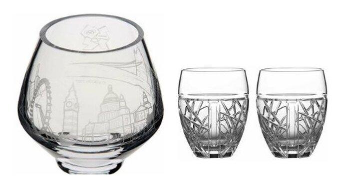 I bicchieri dello shop ufficiale London 2012. Foto: shop.london2012.com