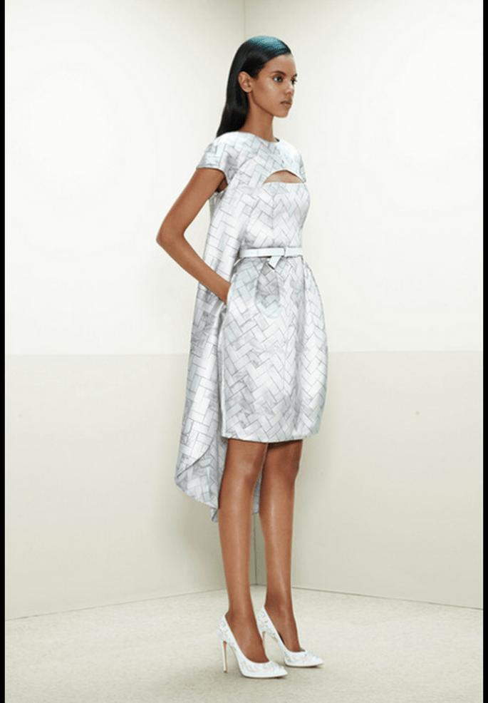 Vestido de novia para Pre Fall 2014 con estilo Avant Garde - Foto Prabal Gurung