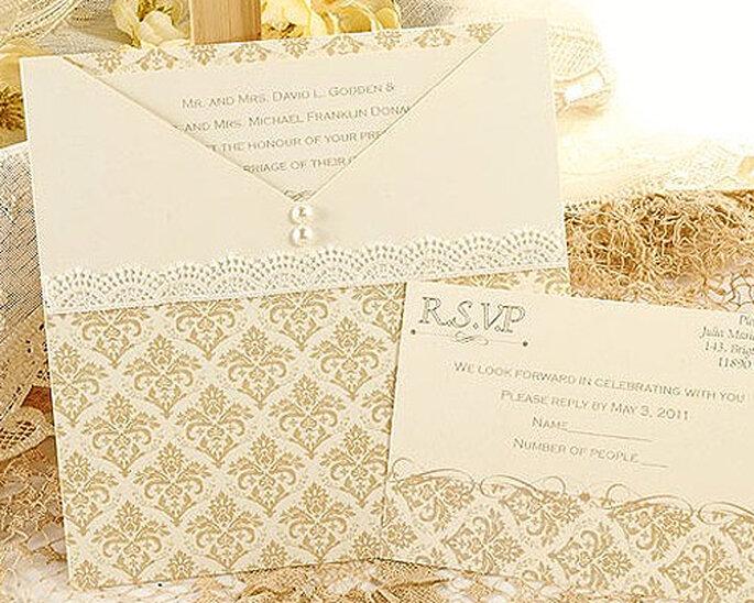 Partecipazione di nozze Modello Siena di Azulsahara