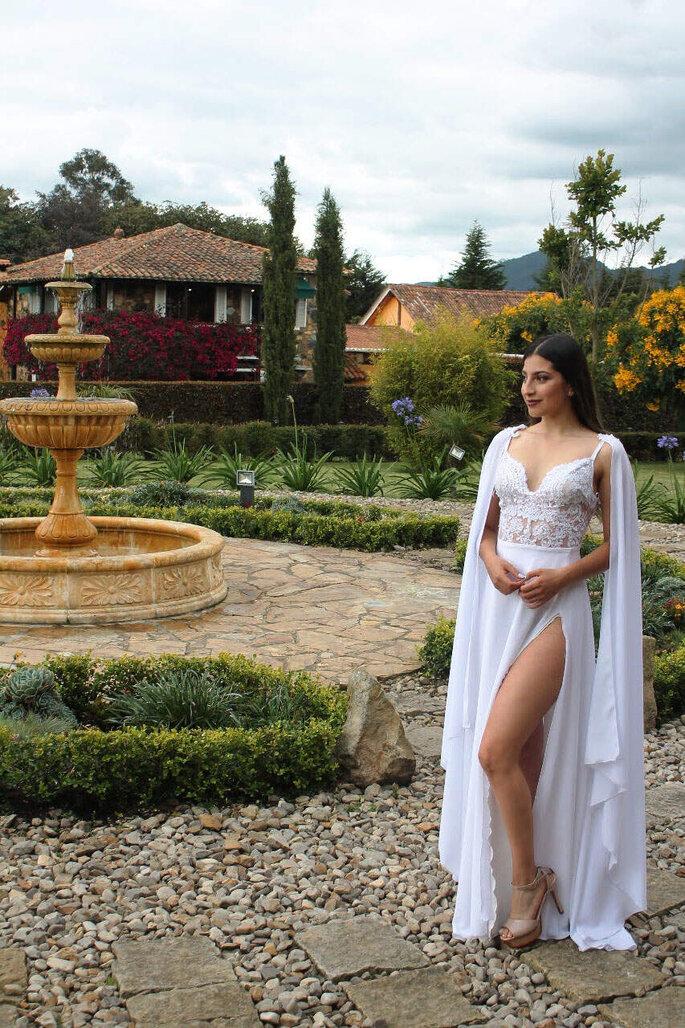 Foto: Etait Une Fois - Violeta vestido de novia sensual