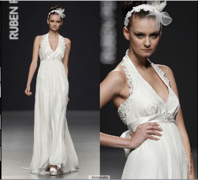 Vestido Annabelia, colección 2012 Rubén Perlotti
