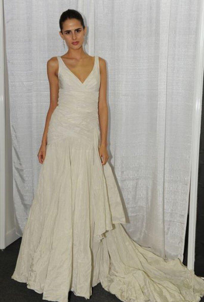 mit Träger - Nicole-Miller-Spring-2013-Wedding-Dress