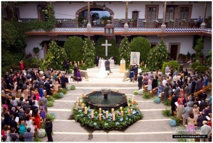 Una boda de telenovela en Hacienda La Gavia - Foto Antonio Saucedo