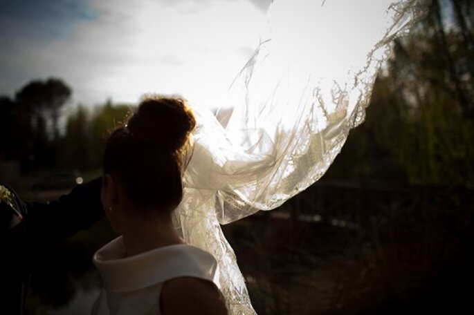 Vestidos de novia. Foto de Chema Naranjo.
