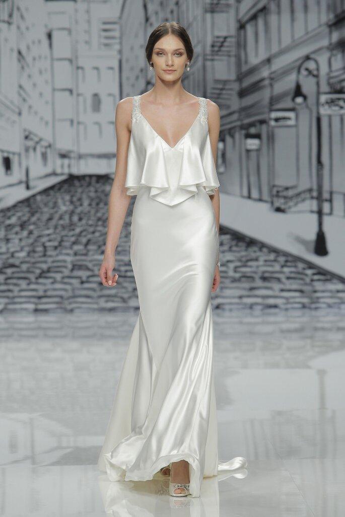 Vestido de novia, Justin Alexander. Justin Alexander. Credits: Barcelona Bridal Fashion Week