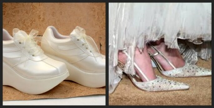 Zapatos de novia confortables- Zapatos con punta elegantes
