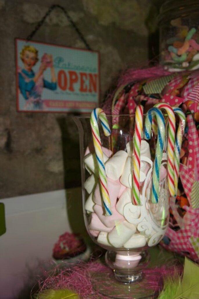 Marshmallow e lecca-lecca per grandi e piccini. Foto : One Day Event