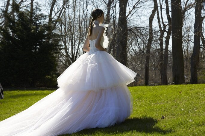 Vestido: Vera Wang - Foto: Divulgação.