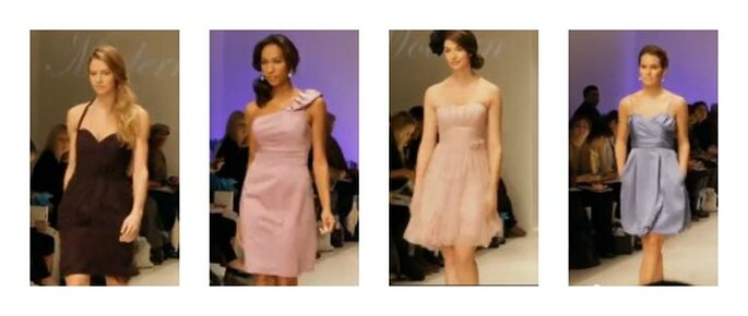 Alfred Angelo Bridesmaids collection. Foto: youtube.com