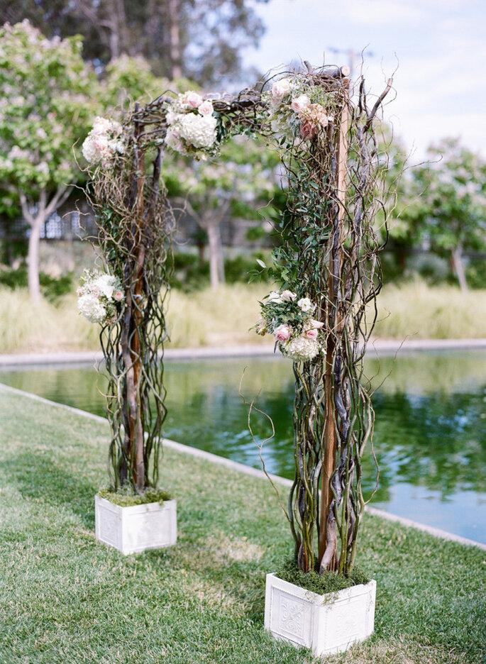 Altar de boda al aire libre - Josh Gruetzmacher Photography