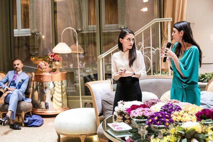 Con Lucia Boriosi di Confetti a Colazione - Foto: Morlotti Studio