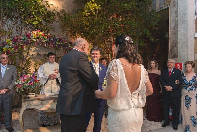 Chegada da noiva ao altar