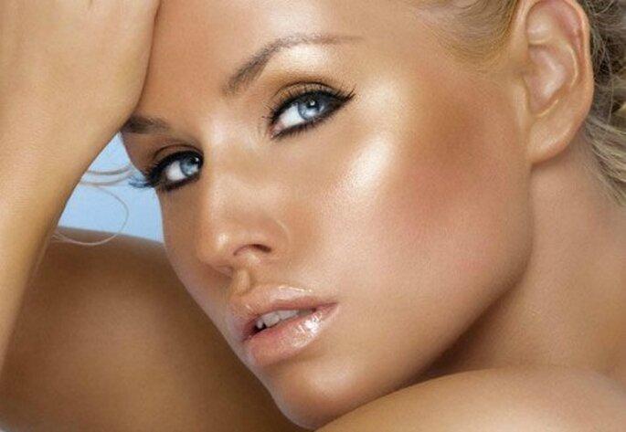 Make up effetto bagnato. Foto: donna.tuttogratis.it