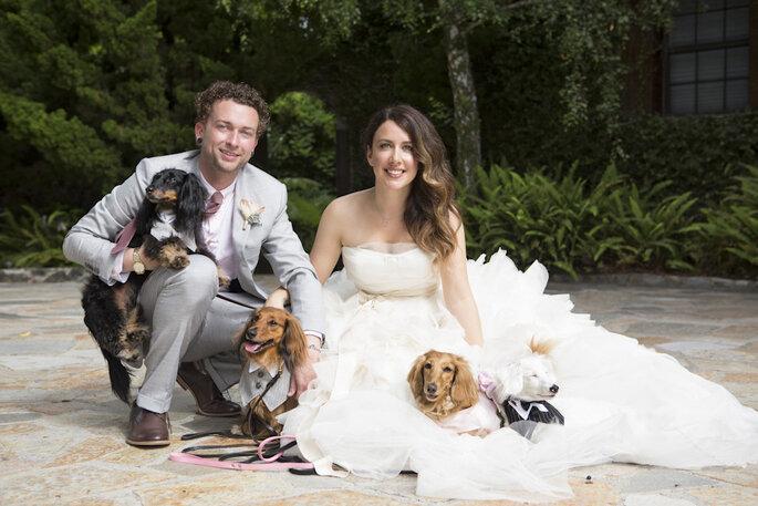 Tu mascota en tu boda - Catherine Hall Studios
