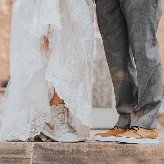 buy popular 9308c 91dee Die schönsten Sneaker für die Braut - Lassen Sie sich ...