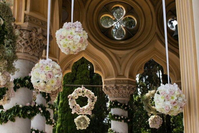 Particolare - sfere di fiori
