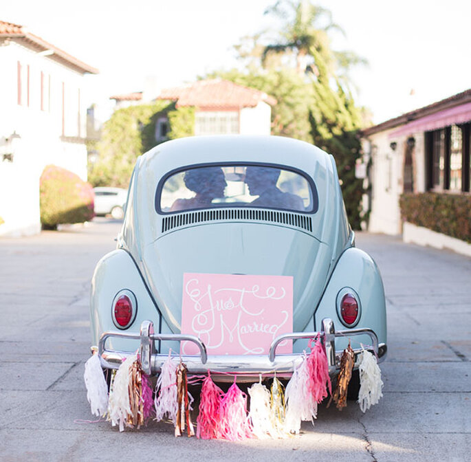 bochito color pastel con decorado de boda