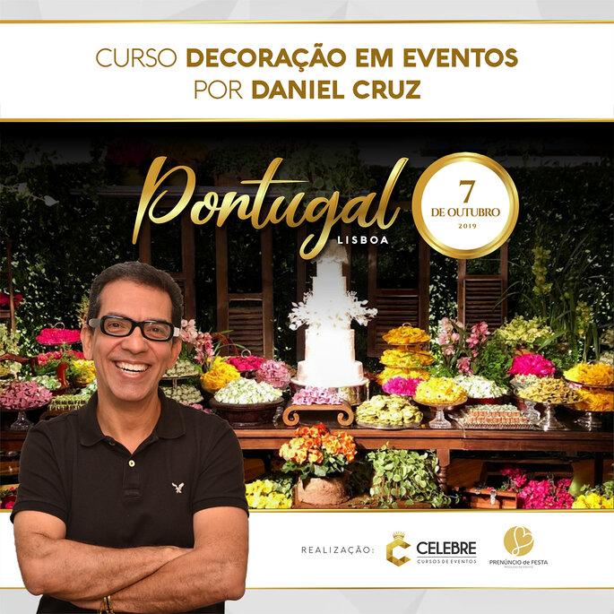 Curso decoração em eventos por Daniel Cruz