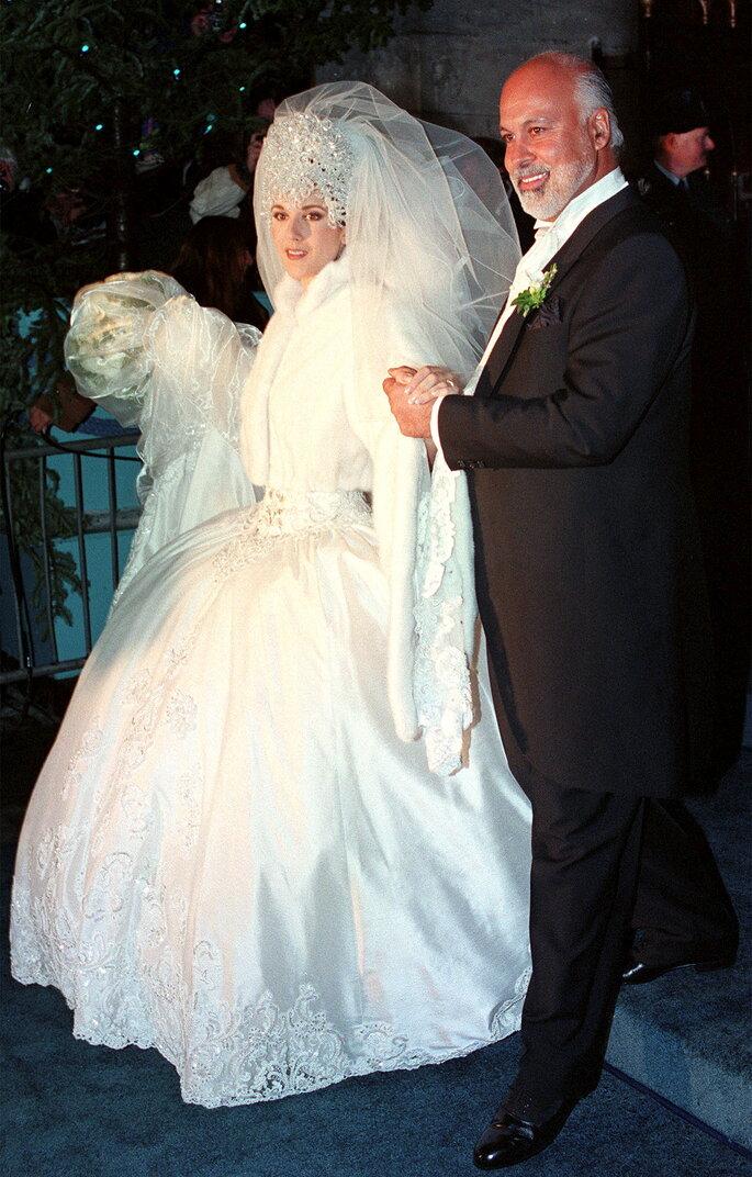 Céline Dion et René Angélil.