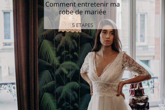 5dd2839ea4b83 Comment entretenir ma robe de mariée en 5 étapes