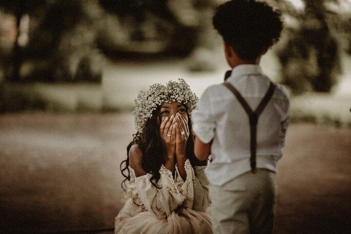 Kinder bei der Hochzeit beschäftigen Tipps