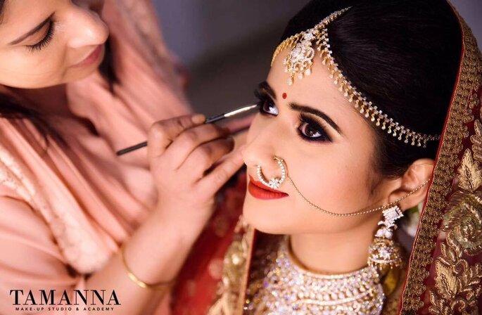 Photo: Tamanna Makeup Studio.