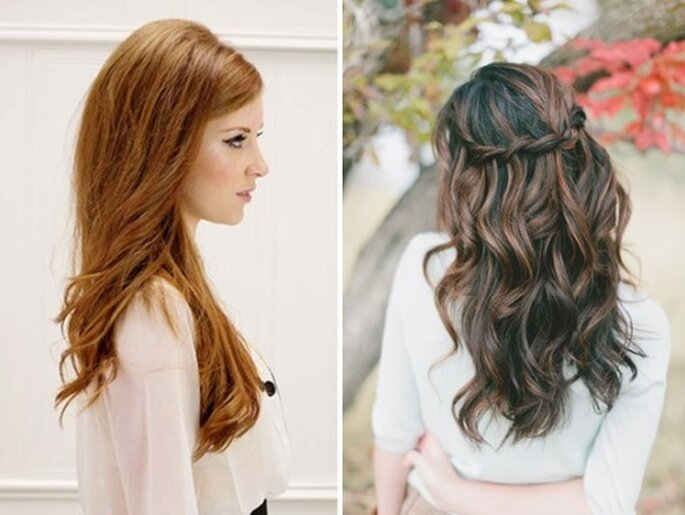 Fontes:  Elizabeth Anne Designs: 10 Gorgeous Bridal Hair Tutorials; Ten Fresh: Dress Up