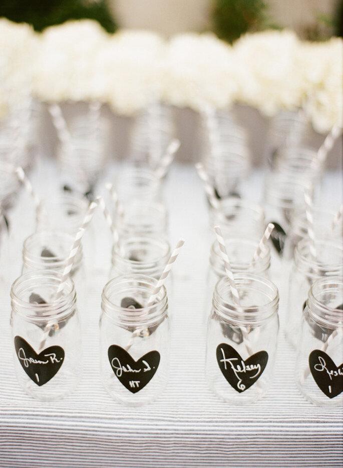 Las ideas más originales para usar los mason jars en tu boda - Lane Dittoe Fine Art Wedding Photography